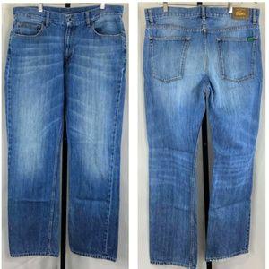 Lacoste Standard Fit 5 Pocket Cotton Jeans